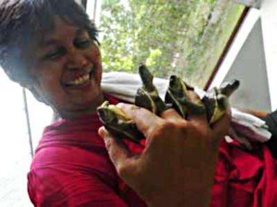 Rupali mit Schluepfling